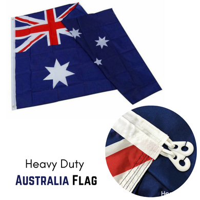 HEAVY DUTY Australian Flag Size 1800x900