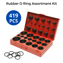 Load image into Gallery viewer, 419 PCS Rubber O Ring Assortment Kit