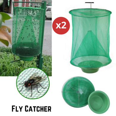 Reusable Flytrap Pest Hanging Catcher 2PCS