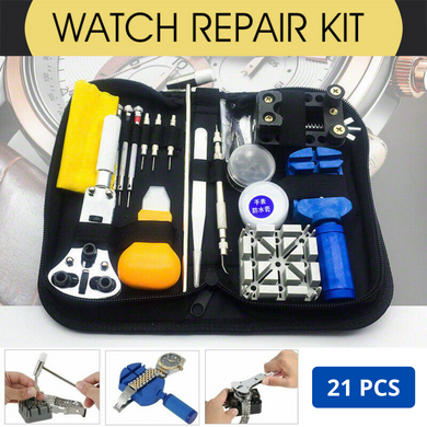 21pcs Watch Repair Tool Kit