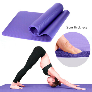 20MM Thick Yoga Mat Pad NBR