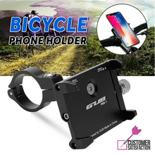 Load image into Gallery viewer, Mobile Phone Holder 360° Rotation Mount Alloy for Motorcycle Bicycle Bike