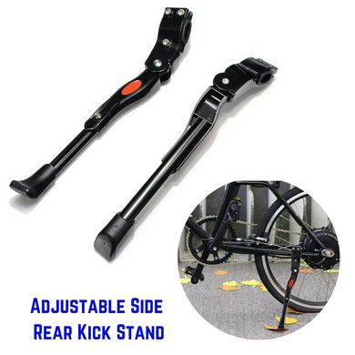 Bicycle Adjustable Side Prop Foot Kick Stand
