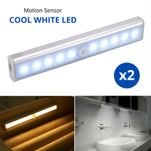 Load image into Gallery viewer, 2x Motion Sensor PIR Light Cordless LED Night Light