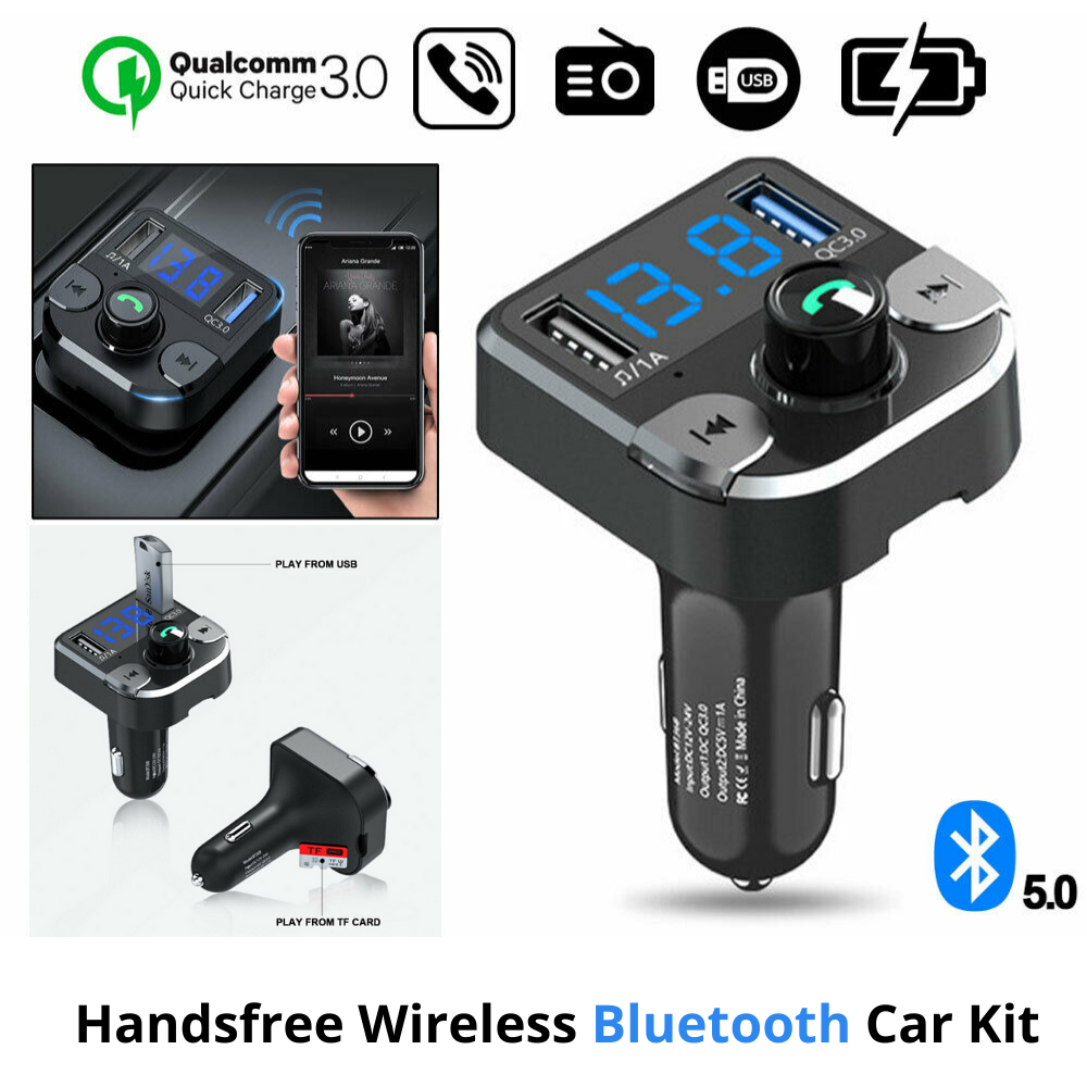 Bluetooth 5.0 Wireless Car MP3 Player Car Kit