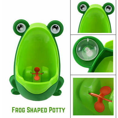 Cute Frog Shaped Kid Potty Toilet Training Bathroom
