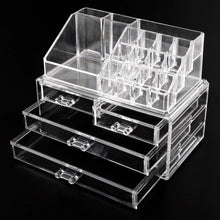 Load image into Gallery viewer, 4-Drawer Clear Acrylic Box Organizer Storage Jewellery Makeup Cosmetic Holder