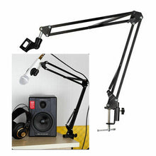 Load image into Gallery viewer, Microphone Suspension Boom Arm Desktop Stand