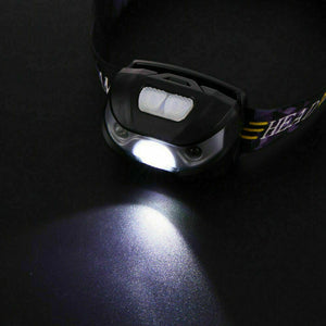 USB Rechargeable Head Torch LED Headlamp Flashlight
