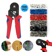 Load image into Gallery viewer, 1500PCS Bootlace Ferrule Crimper kit