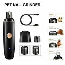 Load image into Gallery viewer, Electric Dog Toe Nail File Grinder