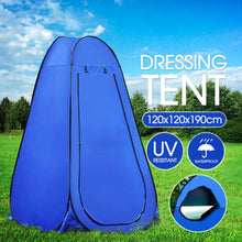 Load image into Gallery viewer, Portable Pop Up Outdoor Camping Shower Tent with Carry Bag