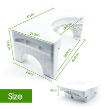 Load image into Gallery viewer, 7'' Portable Eco Sit and Squat Potty Stool