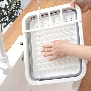 Collapsible Dish Drainer/Drying Dish Rack/Strainer Caravan