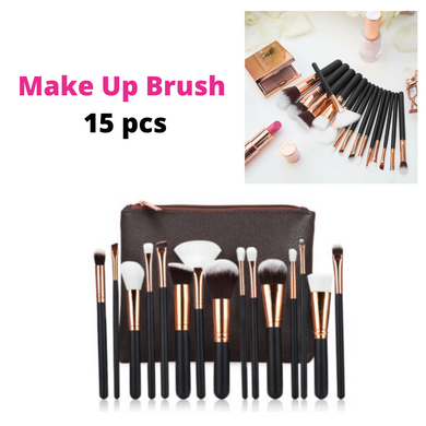 Soft 15Pcs Professional Makeup Brushes Set