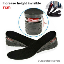 Load image into Gallery viewer, Shoes Insoles Air Cushion Height Increase Heel Gel Insert