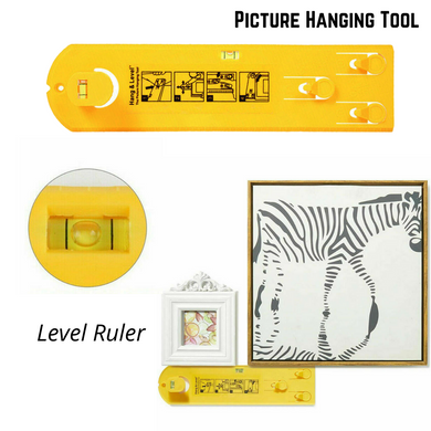 Picture Hanging Tools Level Ruler