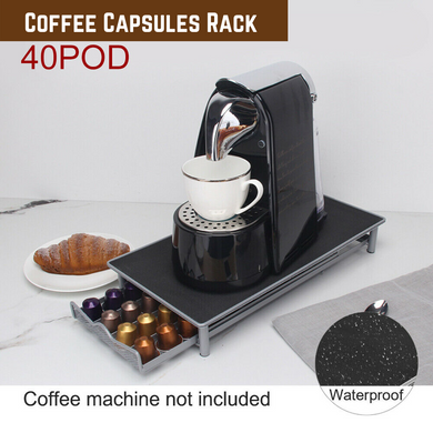 Coffee Capsules Holder Rack 40 Pods