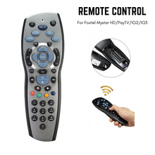 Load image into Gallery viewer, TV Remote Control Replacements Foxtel/PayTV/Sky New Zealand/MyStar Silver