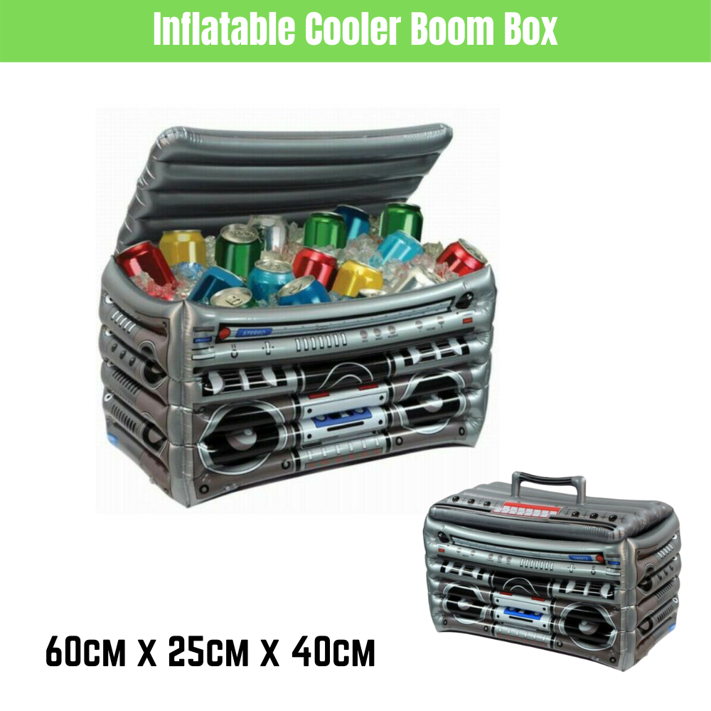 Inflatable Cooler Boom Box