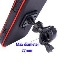 Load image into Gallery viewer, Waterproof Bike Bicycle Motorcycle Handlebar Mount Holder Case for Apple Samsung