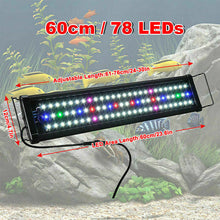 Load image into Gallery viewer, 60/  90cm Aquarium LED Light Lighting Full Spectrum Aqua Plant Fish Tank