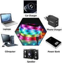 Load image into Gallery viewer, 10M Bluetooth LED Color Changing Waterproof Music USB RGB Strip Light