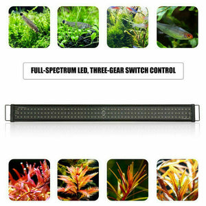 60/  90cm Aquarium LED Light Lighting Full Spectrum Aqua Plant Fish Tank