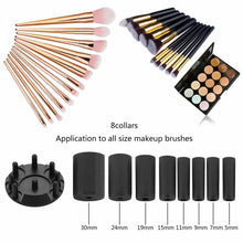 Load image into Gallery viewer, Electric Beauty Cosmetic Brush Makeup Brushes Cleaner Remover Washing Tools Black