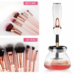 Electric Beauty Cosmetic Brush Makeup Brushes Cleaner Remover Washing Tools Black