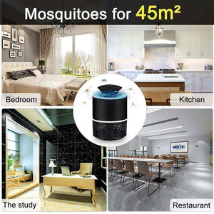 USB Mosquito Insect Killer Electric Lamp LED Light Fly Bug Zapper Trap Catcher