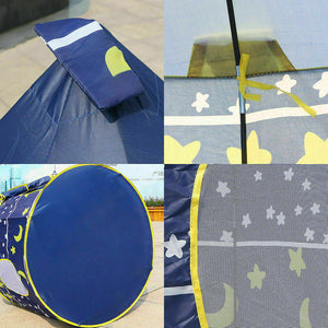 Kids Playhouse Pop Up Castle Play Tent