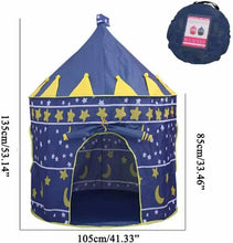 Load image into Gallery viewer, Kids Playhouse Pop Up Castle Play Tent