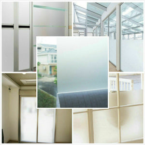 Privacy Frosted Window Glass Film 5M