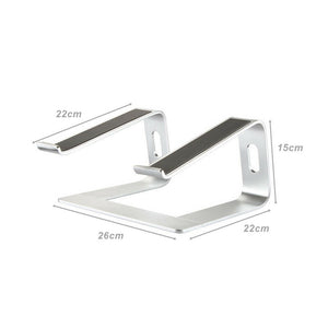 Ergonomic Aluminium Cooling Laptop Stand