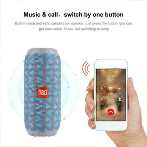 TG117 Bluetooth Wireless Speaker Waterproof