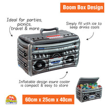 Load image into Gallery viewer, Inflatable Cooler Boom Box
