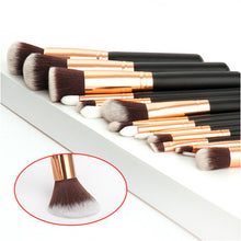 Load image into Gallery viewer, Soft 15Pcs Professional Makeup Brushes Set