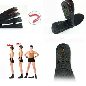 Shoes Insoles Air Cushion Height Increase Heel Gel Insert