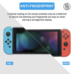 2x Premium Tempered Glass Screen Protector for Nintendo Switch