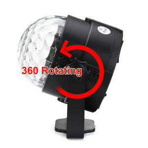 Disco Ball DJ Party Light Effect Strobe Remote Auto Sound Activated
