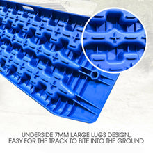 Load image into Gallery viewer, 1 Pair 4WD Blue Recovery Track 95cm