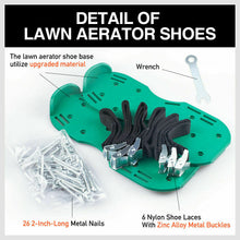 Load image into Gallery viewer, Garden Lawn Aerator Spike Spiked Shoes 1 Pair