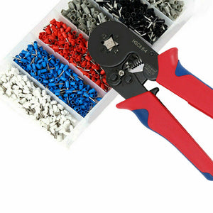 1500PCS Bootlace Ferrule Crimper kit