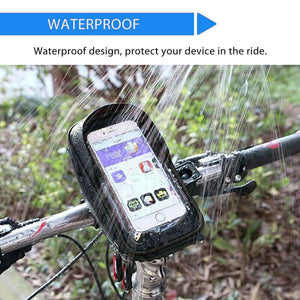 Waterproof Bicycle Handlebar Mount Holder Case