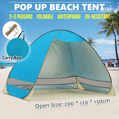 Pop Up Beach Tent Camping 2-3 Persons