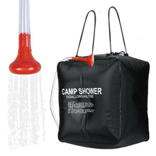 Load image into Gallery viewer, 40L Portable Solar Heating Outdoor Camp Shower Bag