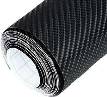 Load image into Gallery viewer, 4D Gloss Black Carbon Fiber Sticker