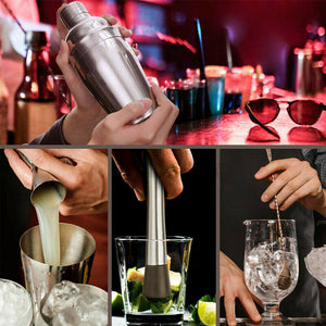 12pcs Cocktail Shaker Set