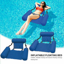 Load image into Gallery viewer, Inflatable Floating Water Hammock Float Swimming Chair